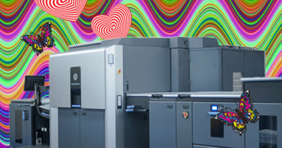 We're in love with our new Hewlett Packard Indigo digital printer